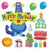 <strong>Trend Enterprises</strong> Furry Friends Birthday Fun Bulletin Board Set