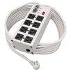 <strong>Tripp Lite</strong> Isobar Surge Suppressor Metal, 8 Outlet, 25Ft Cord, 3840 Joules