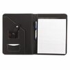 <strong>Leather-Look Pad Folio, Inside Flap Pocket with Card Holder</strong> by Universal®