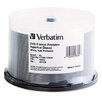 Verbatim Corporation Inkjet Printable DVD-R Discs, 4.7GB, 8x, Spindle, White, 50/Pack