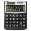 <strong>Solar/Battery Minidesk Calculator, 8-Digit Display</strong> by Victor Technology