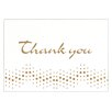 "Mead 4"" x 5.75"" Embossed Thank You Note (10 Count)"