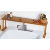 Lipper International Bamboo Over-The-Sink Shelf