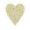 Cici Art Factory Lotsa Alphabet Art Heart Chicks Paper Print