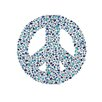 Cici Art Factory Lotsa Alphabet Art Peace Penguins Hanging Peace Sign