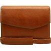 Aaron Irvin Sienna Leather Briefs Messenger Bag
