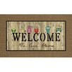 Masterpiece Owl Welcome Mat