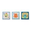 Sumersault 3 Piece Monster Babies Hanging Art Set