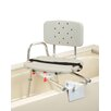 Eagle Health Tub Mount Transfer Bench with Molded Swivel Seat and Back