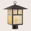 <strong>Livex Lighting</strong> Montclair Mission 1 Light Outdoor Post Lantern