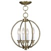 <strong>Milania 4 Light Foyer Pendant</strong> by Livex Lighting
