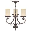 Livex Lighting Millburn Manor 3 Light Mini Chandelier