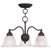<strong>Livex Lighting</strong> Essex 3 Light Mini Chandelier