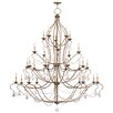 <strong>Livex Lighting</strong> Chesterfield Candle Chandelier