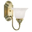 <strong>Livex Lighting</strong> Belmont 1 Light Wall Sconce
