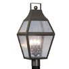 "<strong>Livex Lighting</strong> Augusta 3 Light 11.25"" Post Lantern"