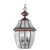 Monterey 3 Light Outdoor Hanging Lantern