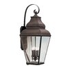 <strong>Livex Lighting</strong> Exeter 4 Light Outdoor Wall Lantern