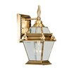 <strong>Livex Lighting</strong> Fleur De Lis Outdoor Wall Lantern
