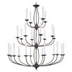 <strong>Livex Lighting</strong> 24 Light Chandelier