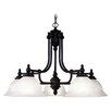 <strong>North Port 5 Light Chandelier</strong> by Livex Lighting