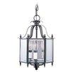 <strong>Livex Lighting</strong> 3 Light Convertible Foyer Pendant