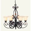 <strong>Livex Lighting</strong> Tuscany 6 Light Chandelier