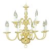 <strong>Livex Lighting</strong> Williamsburg 12 Light Chandelier