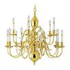 <strong>Livex Lighting</strong> Wakefield 15 Light Chandelier