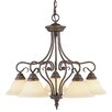 Livex Lighting Coronado 5 Light Chandelier