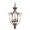 <strong>Livex Lighting</strong> Coronado 4 Light Foyer Pendant