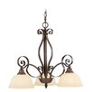 <strong>Manchester 3 Light Chandelier</strong> by Livex Lighting