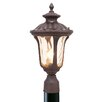 <strong>Livex Lighting</strong> Oxford 1 Light Outdoor Post Lantern