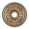 Livex Lighting Ceiling Medallion in Vintage Gold Leaf