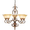 <strong>Bristo 5 Light Chandelier</strong> by Livex Lighting