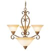 <strong>Livex Lighting</strong> Bristo 4 Light Chandelier
