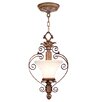 <strong>Savannah  Convertible Pendant in Venetian Patina</strong> by Livex Lighting