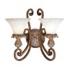 <strong>Livex Lighting</strong> Savannah 2 Light Wall Sconce