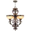 Livex Lighting Seville 3 Light Up Chandelier