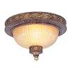 <strong>Livex Lighting</strong> Seville 2 Light Flush Mount