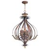 <strong>Livex Lighting</strong> Villa Verona 6 Light Foyer Pendant