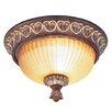Livex Lighting Villa Verona Flush Mount
