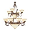 <strong>Livex Lighting</strong> Sovereign 18 Light Chandelier