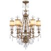 <strong>Livex Lighting</strong> La Bella 6 Light Chandelier