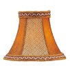 "<strong>6"" Suede Bell Clip Chandelier Shade</strong> by Livex Lighting"