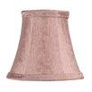 "Livex Lighting 5"" Silk Bell Clip Chandelier Shade"
