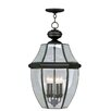 <strong>Livex Lighting</strong> Monterey 4 Light Outdoor Hanging Lantern