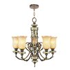 <strong>Bristol Manor 5 Light Chandelier</strong> by Livex Lighting