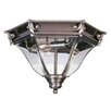Livex Lighting Fleur De Lis Outdoor Flush Mount