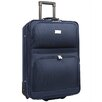 """Traveler's Choice Voyager 21"""" Expandable Rolling Suitcase in Navy"""